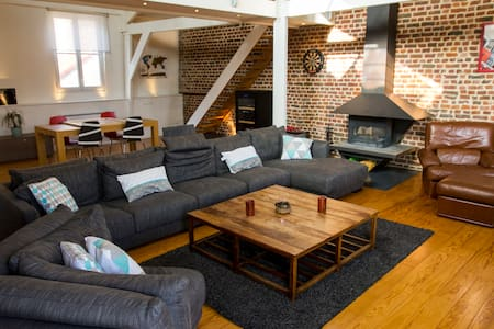 Private room in a Loft in town center - Lille - Loft