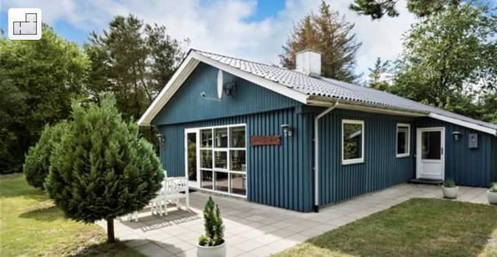 Hyggelig sommerhus ved Ringkøbing fjord