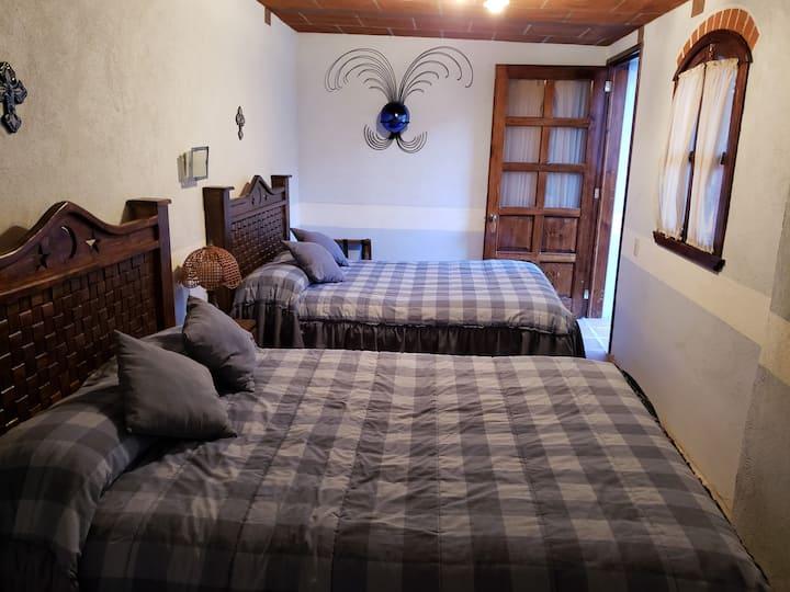 Habitación Pulque en Hacienda San Buenaventura