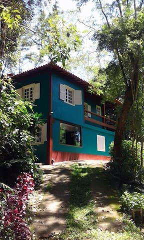 Atlantic Forest Paradise - Rio Claro - Cabaña