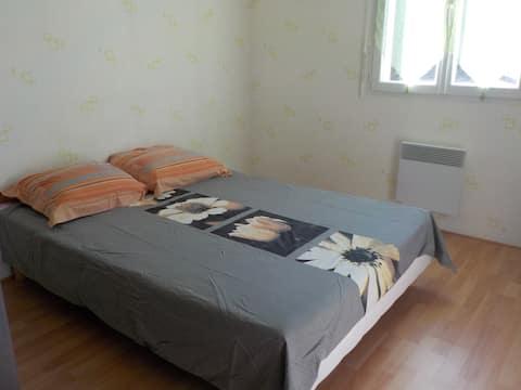 Chambre  privée dans maison - LOC MINIMUM 2 NUITS