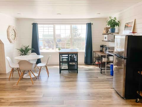 Ocean view, modern style studio apartment.