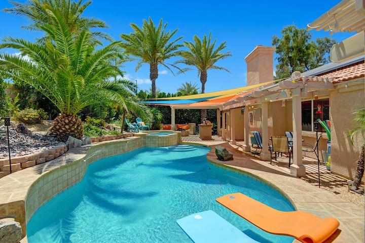 Pool/Spa Oasis Resort Vacation Home