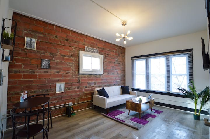 Two Bedroom Suite in Cleveland/Gordon Square.