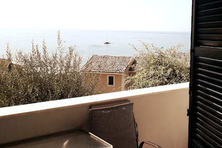Glifada beach vacation sea view apartment