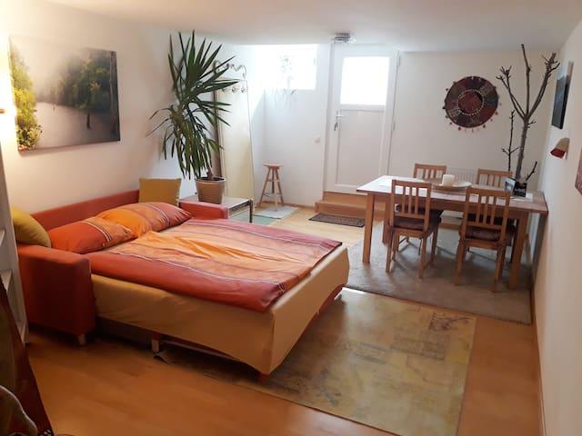 Feel-good apartment w/ private entrance & bathroom