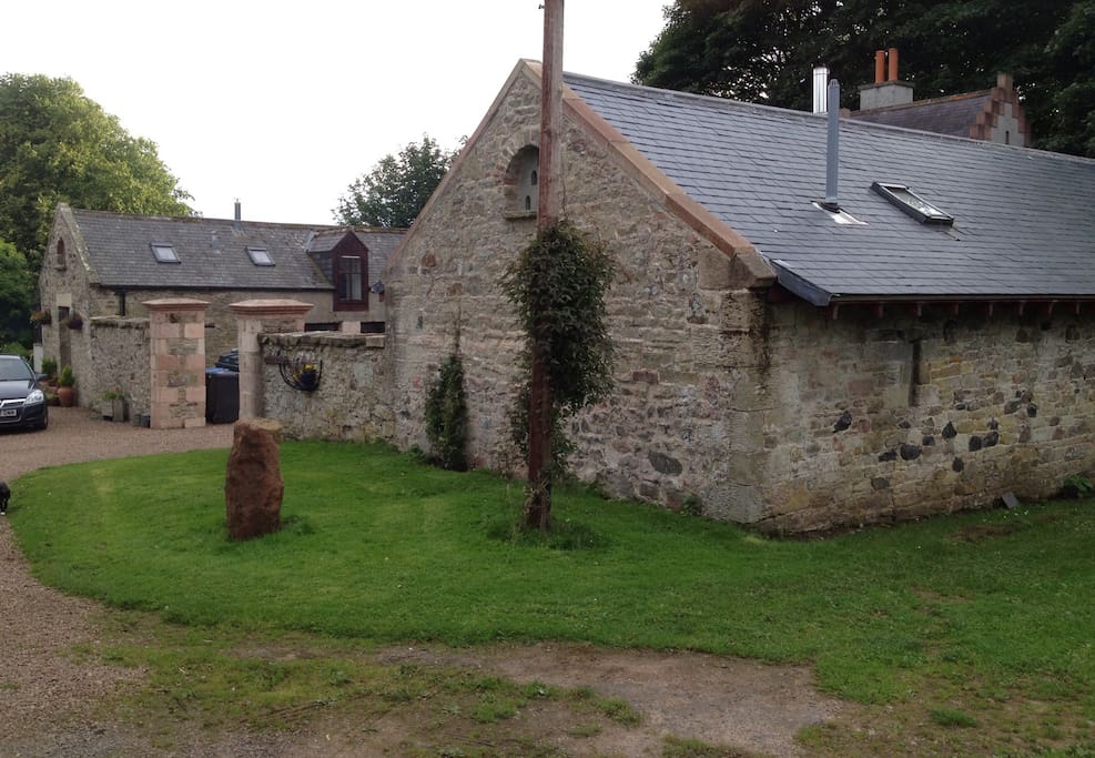 Converted old steading building