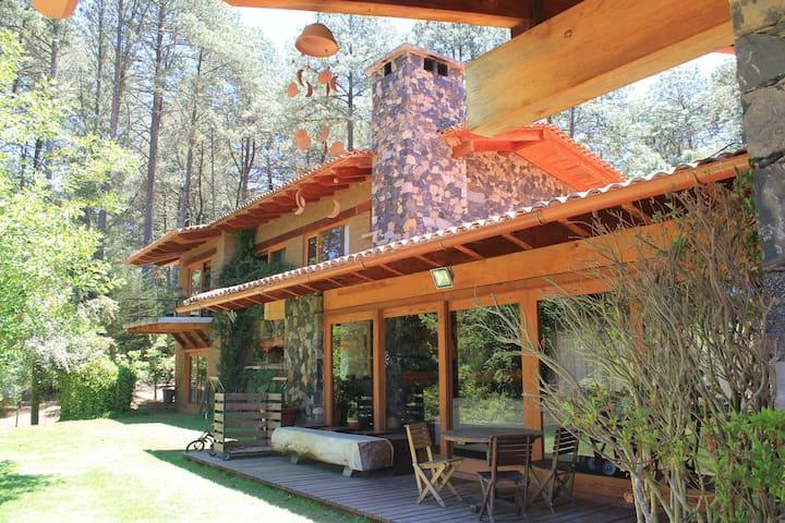 Cabaña de lujo en Tapalpa. Hacienda San Francisco