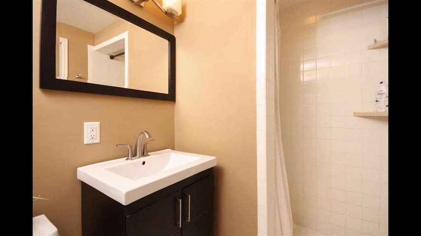 Nice ensuite with own shower