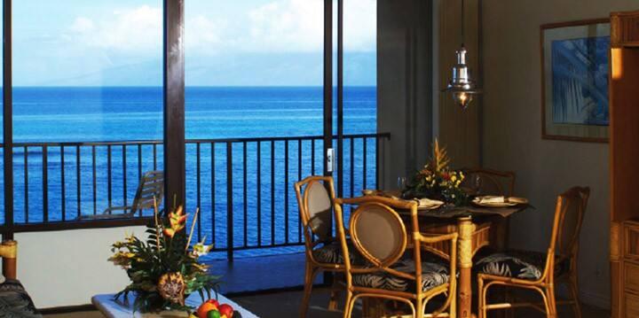 Ocean Front Maui Studio Gem!