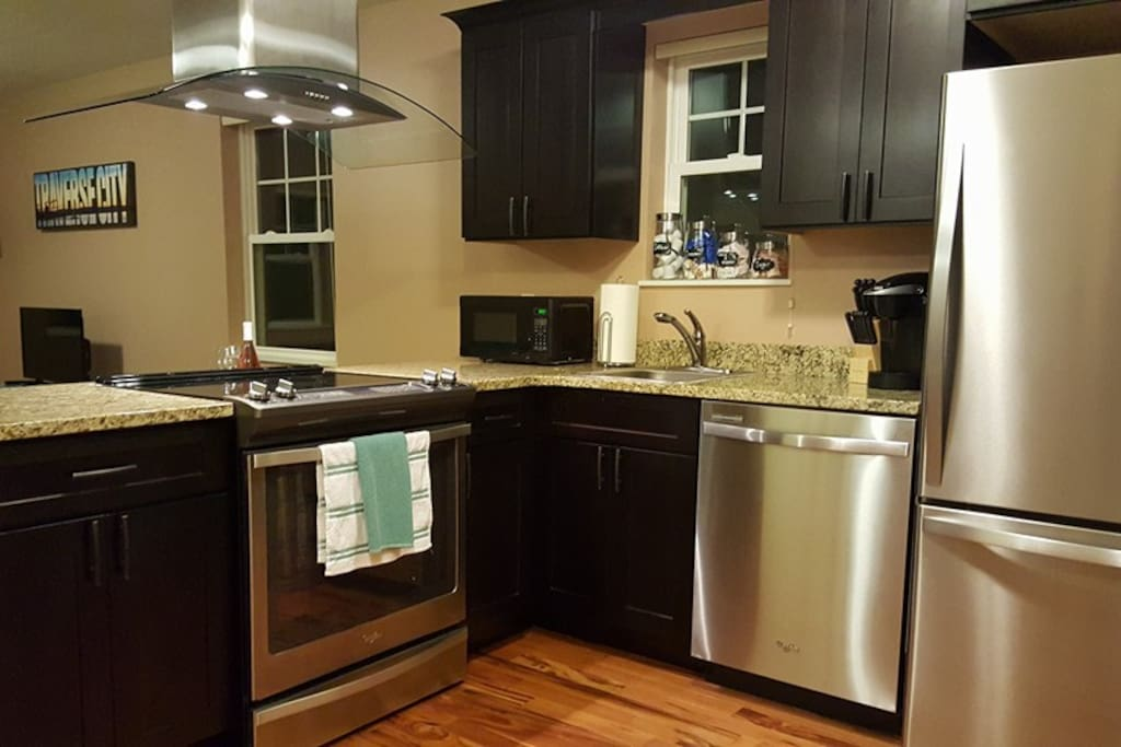 Full kitchen-has everything you need!