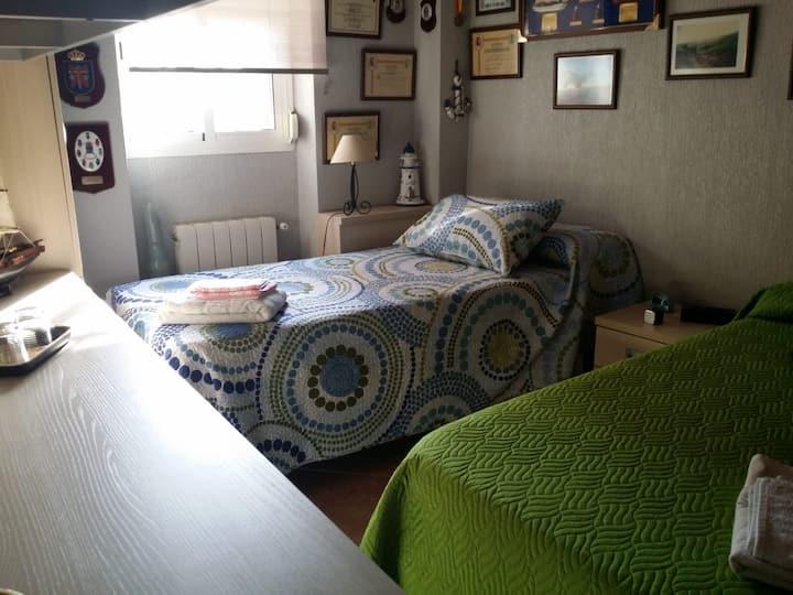 Huelva, Agradable Habitación Cerca del Mar.