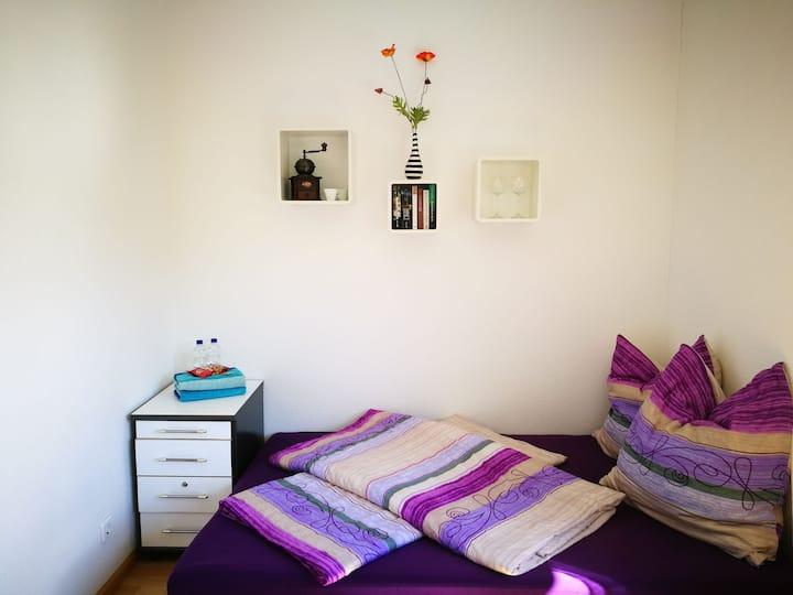Sunny studio, 18m²
