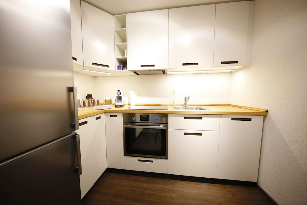 Neue Küche mit allen Möglichkeiten