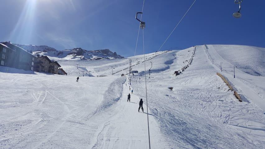 La Parva + 2BR  + 6 guests + near ski lifts