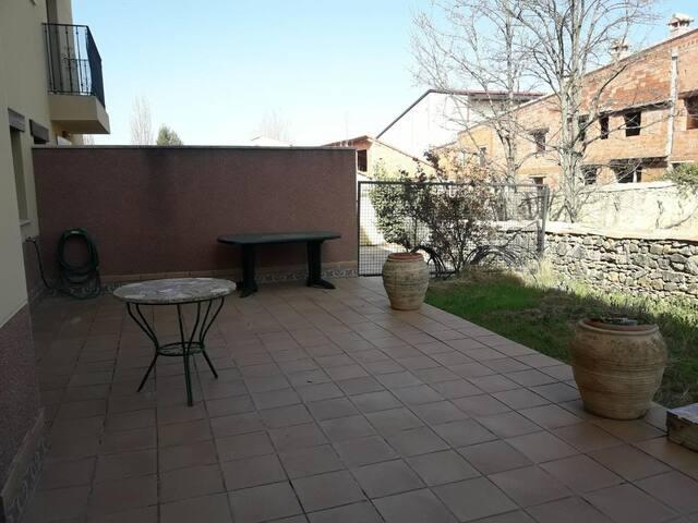 Rubielos - La terraza