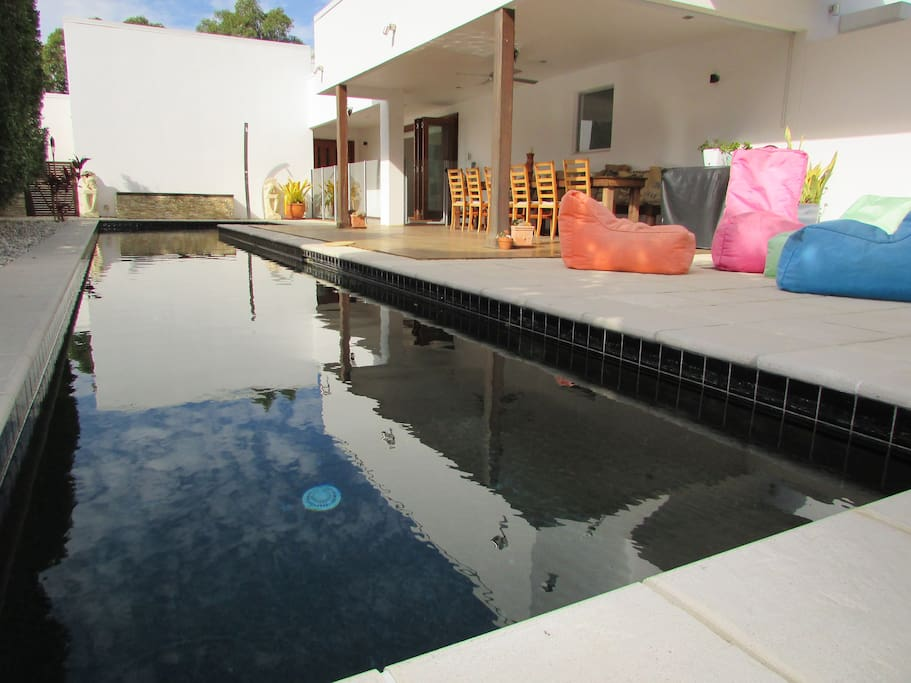 Relax by your 16 metre lap pool