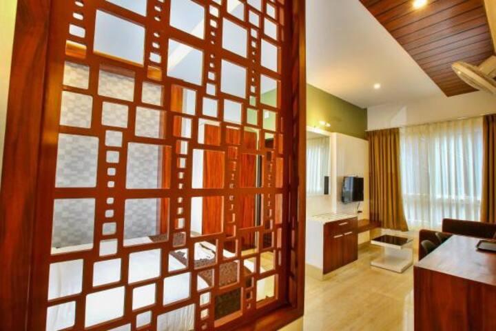 Deluxe Non Ac Room Vythiri Wayanad