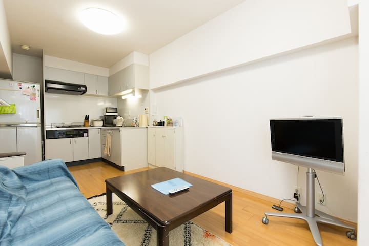 3 mins to TokyoTower, 50sqm, max5