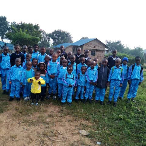 A compound with young school children