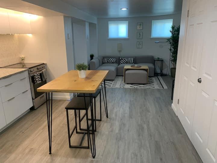 Modern Columbia Heights Garden Apartment