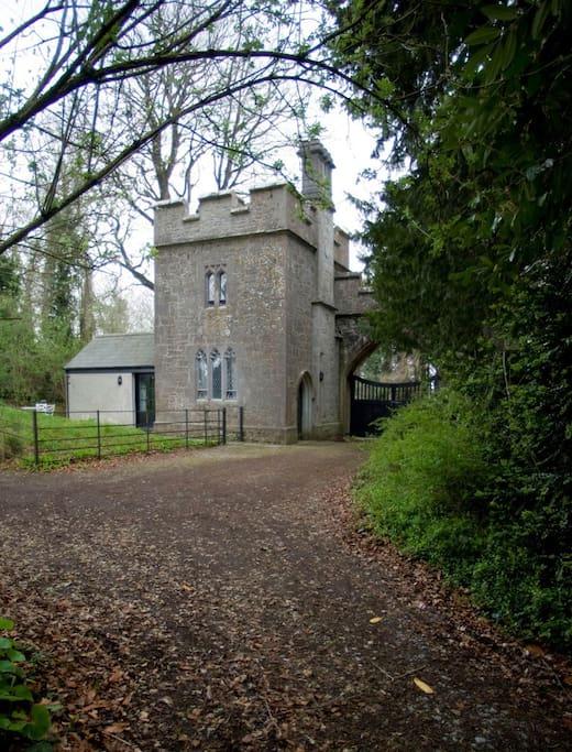 Annes Grove Miniature Castle Rear Exterior