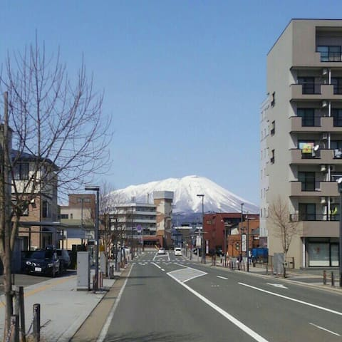 盛岡駅西口7分の安宿ゲストハウス - Morioka-shi - Haus