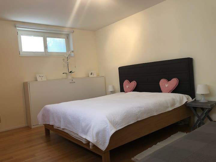2,5 Zimmer Appartement bis 6 P. bei St.Jakobpark