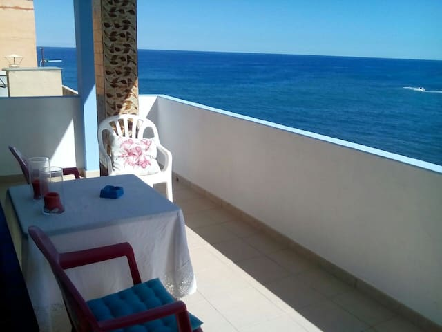 El Roque, house over the sea,views - Moya - Casa