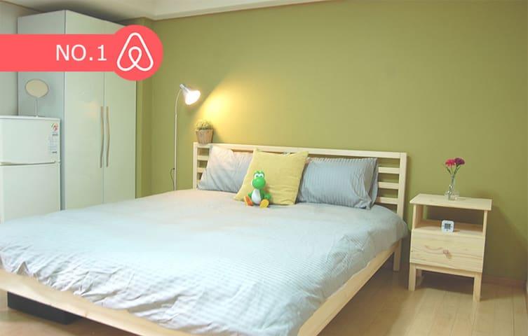 ♥NEW OPEN♥ Yoshi house 2min Hongdae Stn