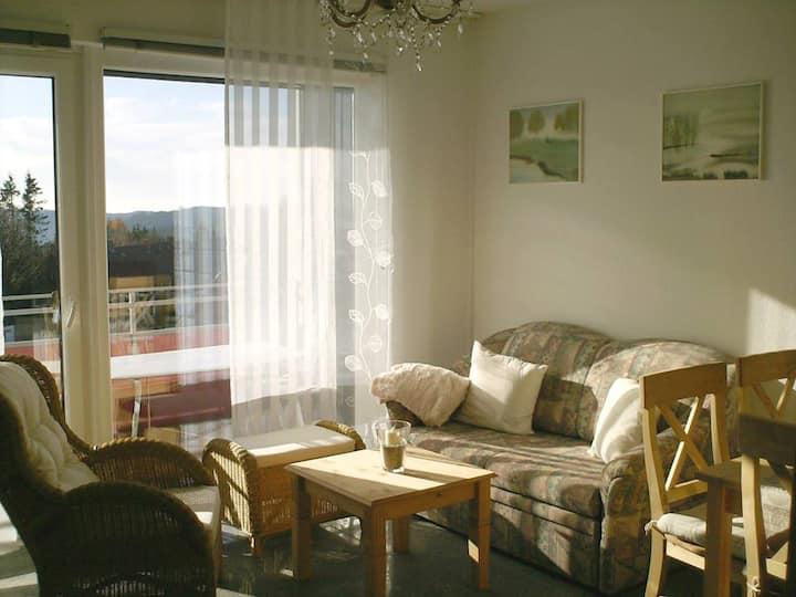 Schnuckliges Apartment mit Traum-Panorama im Harz