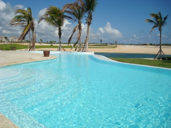 Lakeview Villa in Cap Cana with daily housekeeping