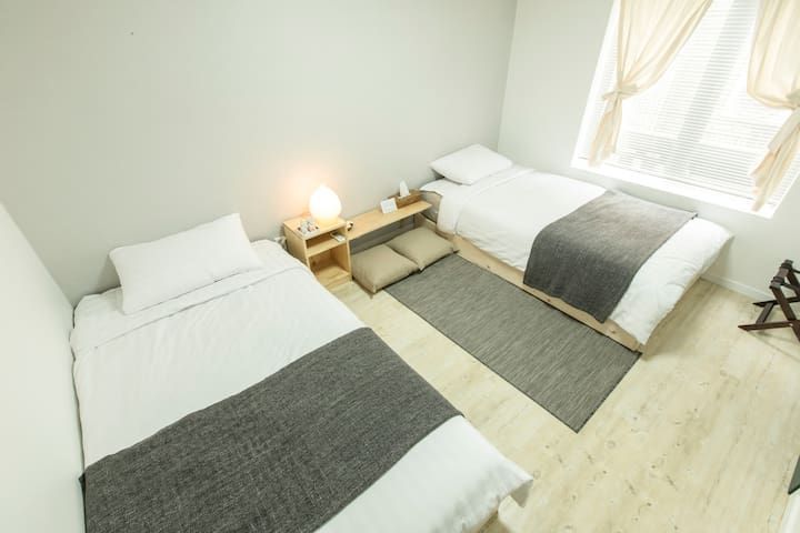 Viajeju Stay (Twin or Triple #02) - Sammu-ro 9-gil, Jeju-si - Bed & Breakfast