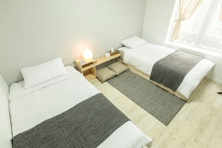 Viajeju Stay (Twin bed room) - Bed & Breakfast