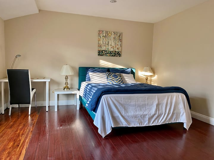 #105 Master Bedroom with private bathroom