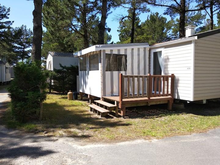 MOBIL HOME dans camping 4**** Le Bois Masson