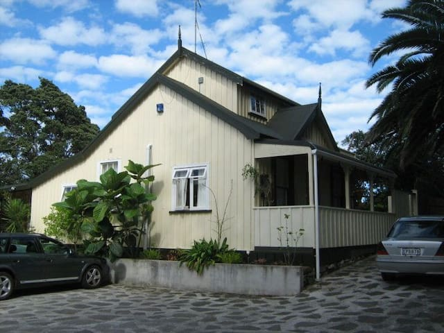 Raglan's Oldest Cottage. Waterfront. Rated 9/10