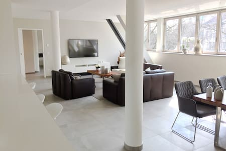 Luxury loft apartment in central Mannheim 155 sqm - Mannheim - Apartemen