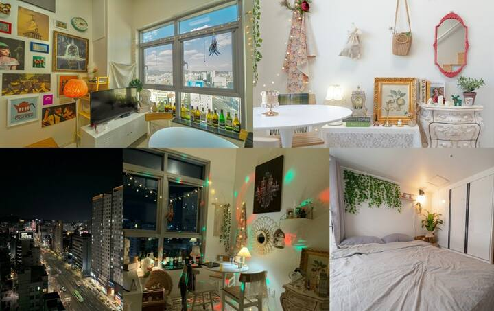 New!cityview. Dellahome. 5sec Hapjeong ST,@Hongdae