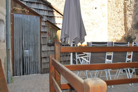 Maison de village Sud Aveyron