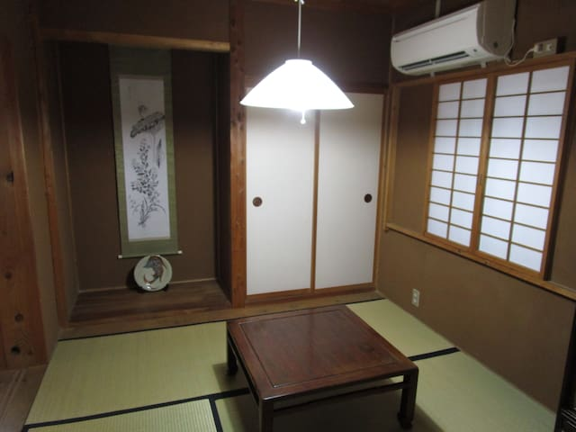 短期滞在のお部屋(和室4.5+6.0畳)