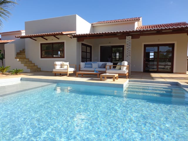 Cajueiro - Casa de praia 2 suítes com piscina - São Miguel do Gostoso - Casa