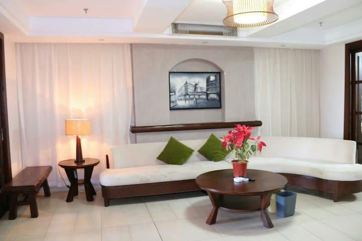 三亚湾舒适两居室,三晚接机 - Sanya - Apartament