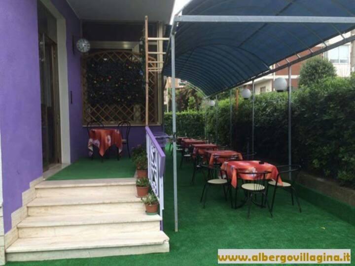 Villa Gina Bed & Breakfast camera doppia