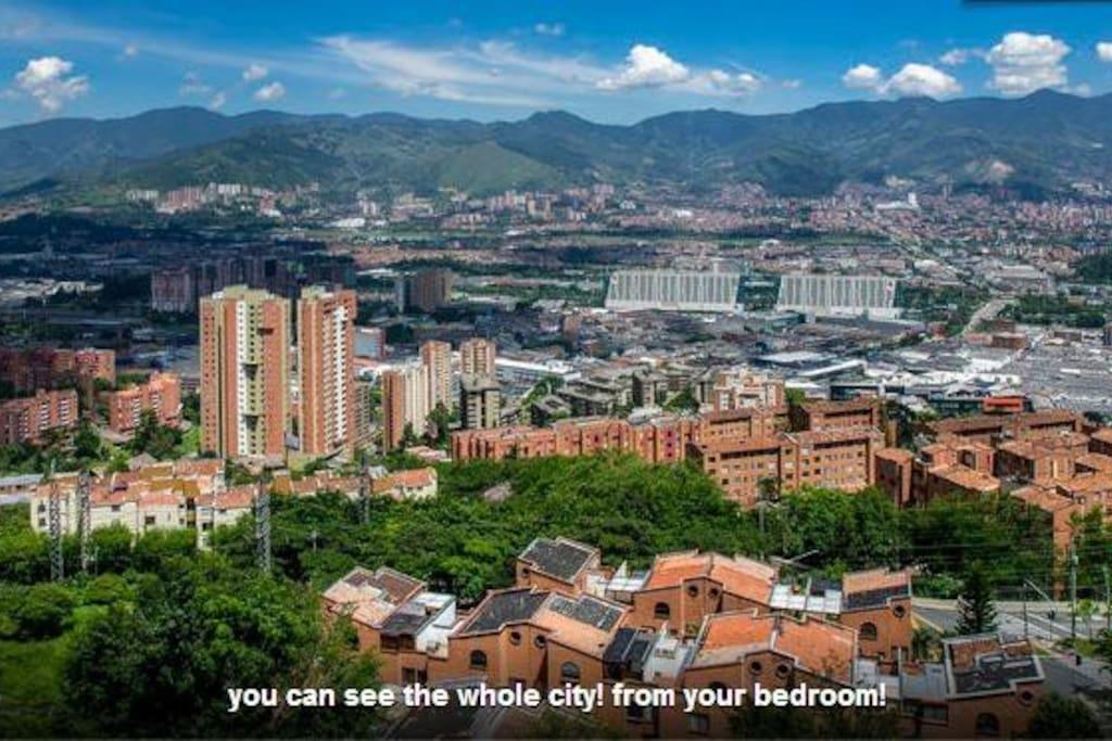 Amazing 11th Floor Views from Apt