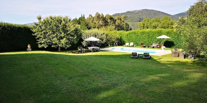 Bonita casa de montaña en el corazón de Cantabria