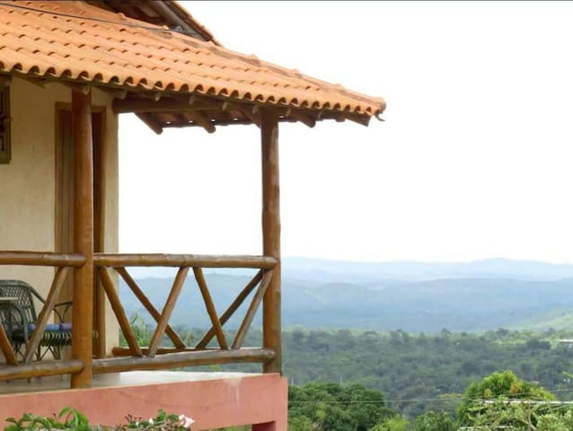 Casa com linda vista na Serra Do Cipó. - Santana do Riacho - Ház