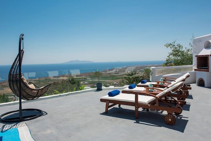 Villa for 4, Private Pool, Aegean Sea View