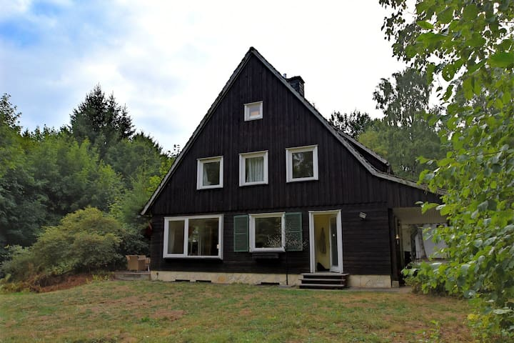 Ampia casa vacanze a Braunlage, Harz, vicino zona sciistica