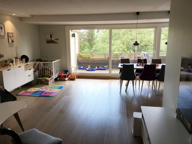 Familievennlig leilighet på 100 kvm